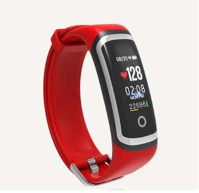 Smart Watch - silver red