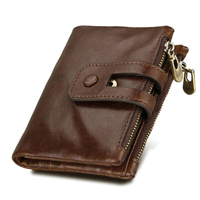 Leather Wallets for Women - Coffee