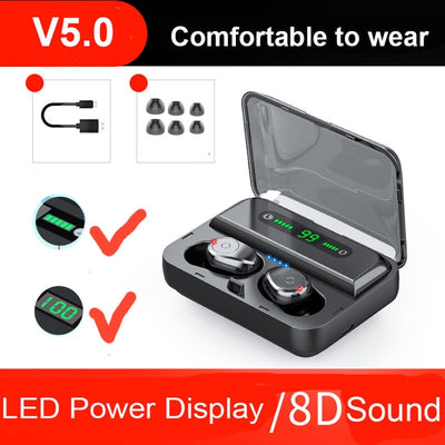 Earbuds - Black with Display