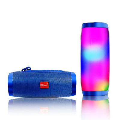 LED Bluetooth Speaker - Blue