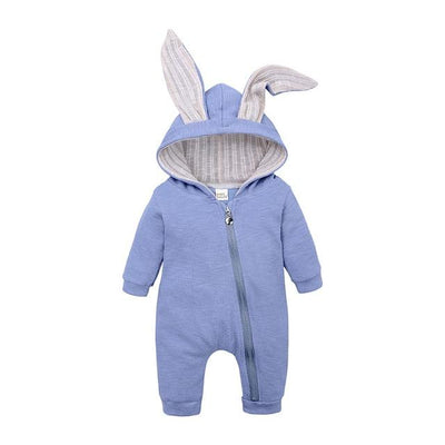 Baby Rompers - Blue / 3M
