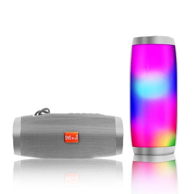 LED Bluetooth Speaker - Gray