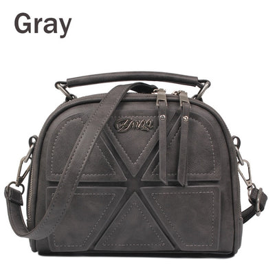 Women Messenger Bags - Gray / About 22cm 11cm 18cm