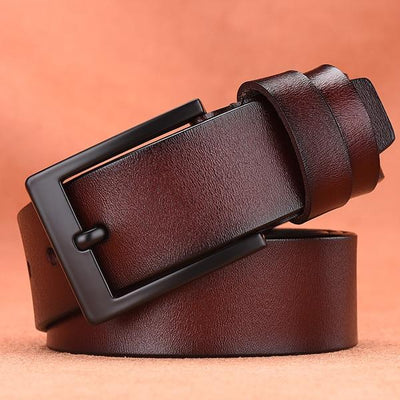 Belt For Men - nz372-coffee / 105CM