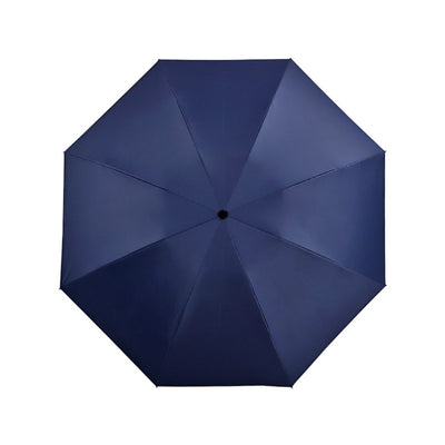 Folding Reverse Umbrella - Navy
