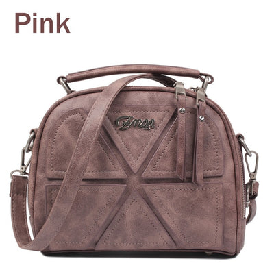 Women Messenger Bags - Pink / About 22cm 11cm 18cm