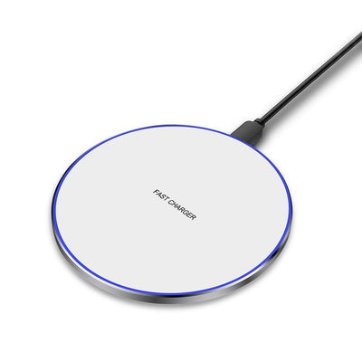 10W Fast Wireless Charger Pad - 10W White