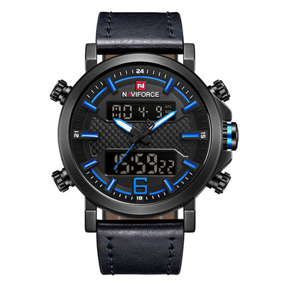 Mens Watches - Black Blue