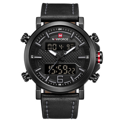 Mens Watches - Black Gray