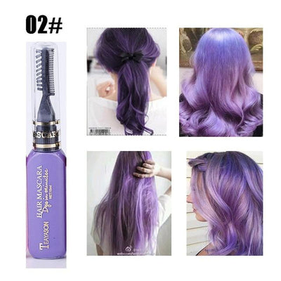 Long Lasting Hair Dye - Purple