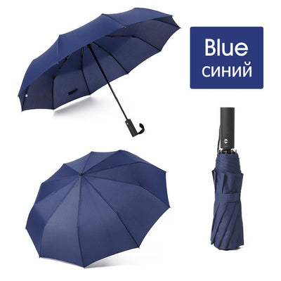 Folding Umbrella - blue