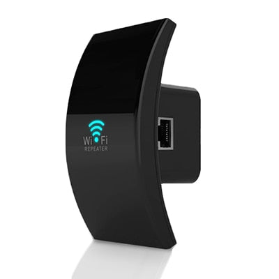 WiFi Repeater - EU Plug / black with box