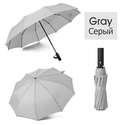 Folding Umbrella - gray