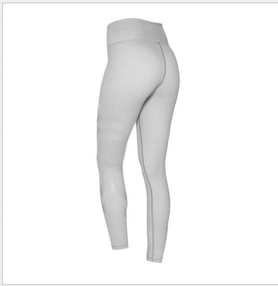 Sports Elastic Leggings for Women - gray / S