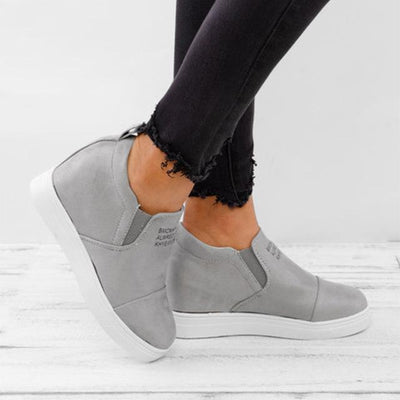 Women Ankle Boots - grey / 5