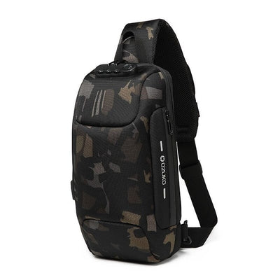 Crossbody Bag for Men - Camouflage / 17x8x34CM