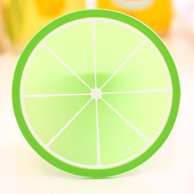 Fruit Design Coaster - Lime