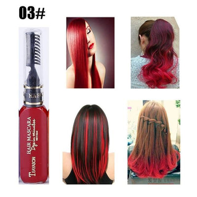 Long Lasting Hair Dye - Red