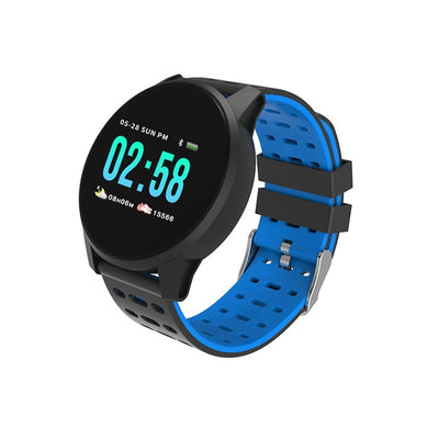 GPS Touch Screen Smart Watch - PU Blue / 220mm