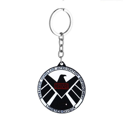 Superhero Key Holder - Marvel Black