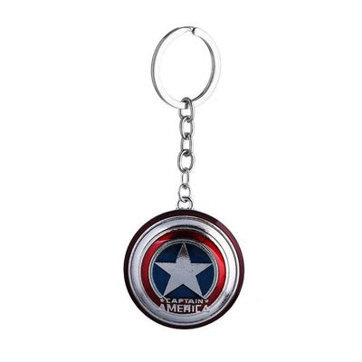 Superhero Key Holder - Captain America Blue