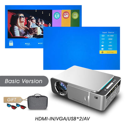 Full HD LED Projector - Basic version-Silver