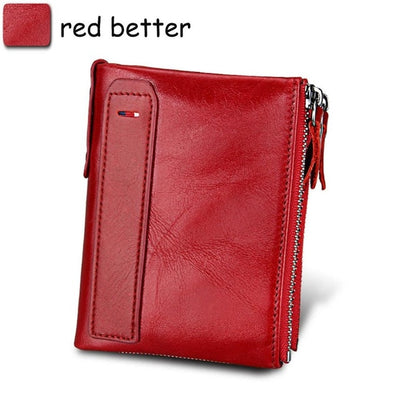 Mens Wallet - red better