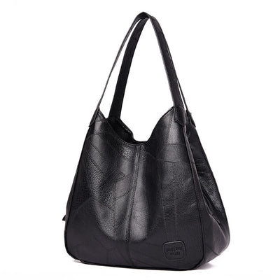 Women Shoulder Bag - Black / (30cm<Max Length<50cm)