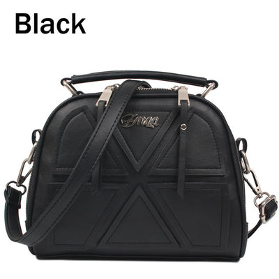 Women Messenger Bags - Black / About 22cm 11cm 18cm