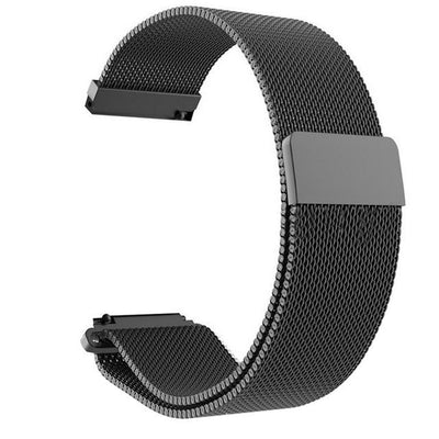 wristband - Black / 22mm gear S3