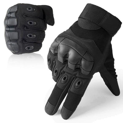 Touch Screen Tactical Gloves - Black / S