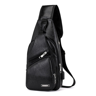 Men's Chest Bag - Black