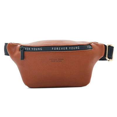 Women Fanny Pack - Brown