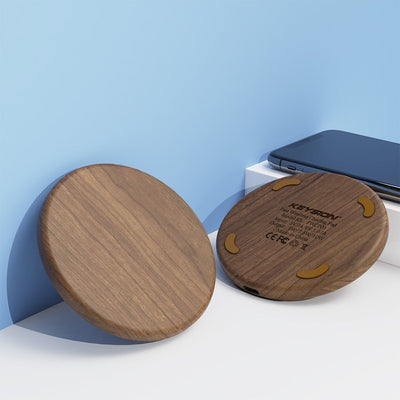 Qi Wireless Charger - Brown