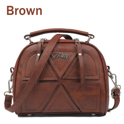 Women Messenger Bags - Brown / About 22cm 11cm 18cm