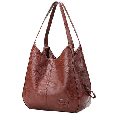 Women Shoulder Bag - Brown / (30cm<Max Length<50cm)