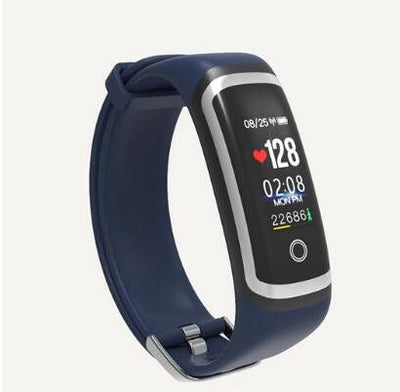 Smart Watch - silver blue