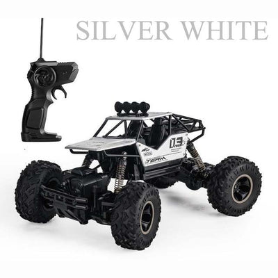 Off-Road Rock Terrain RC Cars - Silver