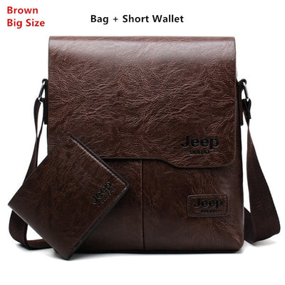 Business Bags For Men - L- Brown 1505-W002
