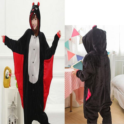 Animals Costume - Bat / S / Animal pajamas
