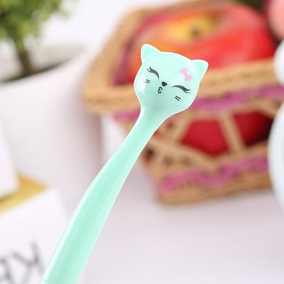 Kawaii Cat Pens - Green