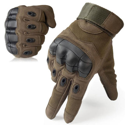 Touch Screen Tactical Gloves - Green / S