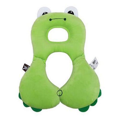 S1P Baby Animal U-Pillow Headrest & Neck Protection - Green