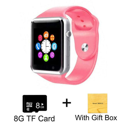 Kids Smart Phone Watch - Pink with 8G Card