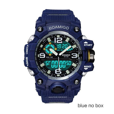 Men Sports Watches - blue no box