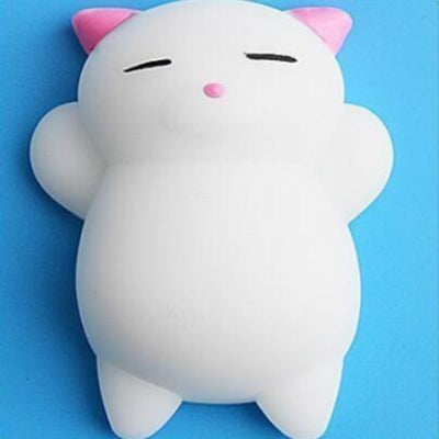 Mochi Squishy Anti-Stress Toy - Pink Cat