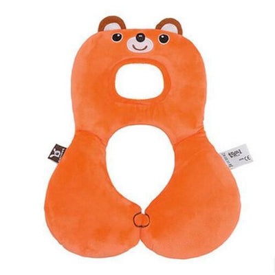 S1P Baby Animal U-Pillow Headrest & Neck Protection - Red