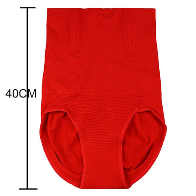 High Waist Slimming Body Shaper - Red / M L