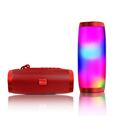 LED Bluetooth Speaker - Red