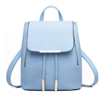 Women PU Leather Backpack - as pic show [173] / 12 inches